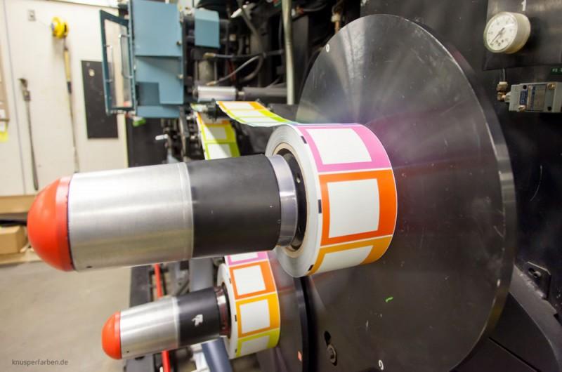 Produktion Color-Labels