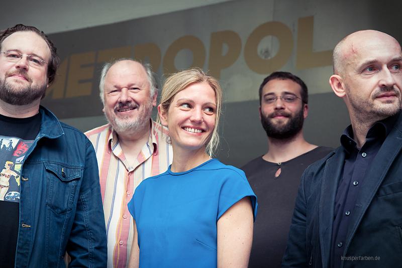 Eric Horst, Udo Heimansberg, Nadine Heinze, Nico Elze, Alexander Steindorf, Marc Dietschreit