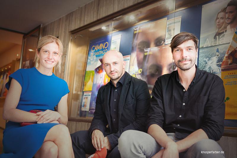 Nadine Heinze, Alexander Steindorf und Marc Dietschreit