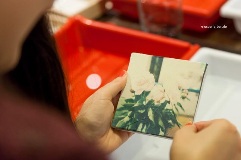 Vom Polaroid zum kleinen Kunstwerk auf Keilrahmen