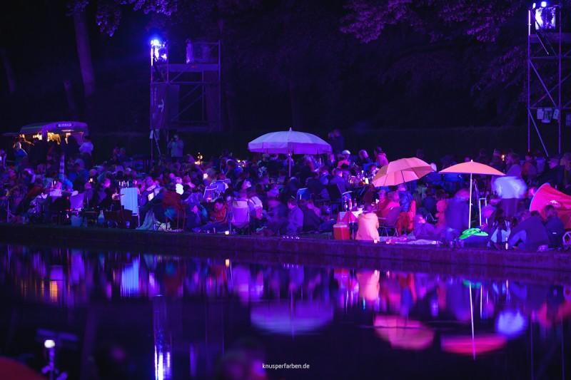 Lichterfest 2016 im Benrather Schlosspark