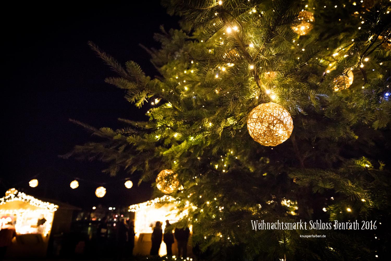 Weihnachtsmarkt Schloss Benrath
