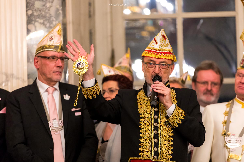 Krönung des Schlossgrafenpaares der Benrather  Schlossnarren, Eventfotografie Düsseldorf